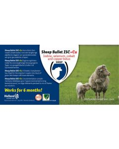 Sheep Bullet ISC + Cu 20 st